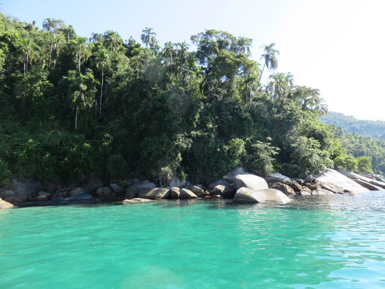 lagoa azul praias de paraty