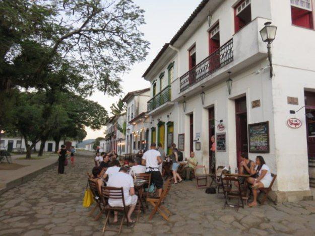 onde ficar em Paraty rua centro historico
