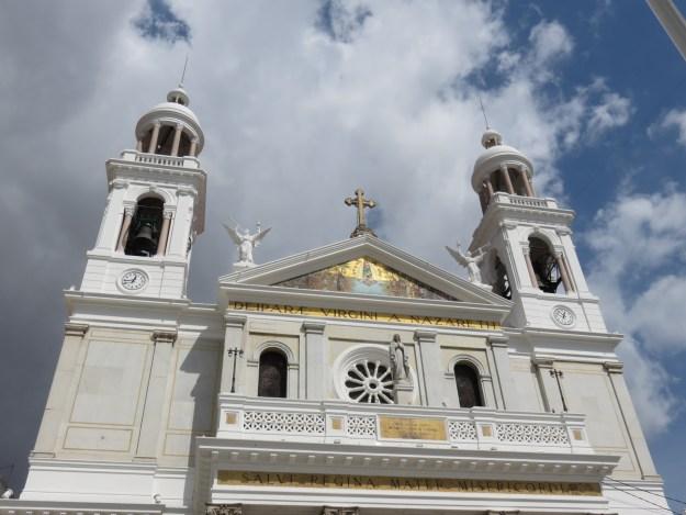 Basílica de Nazaré, em Belém. Foto: Marcelle Ribeiro