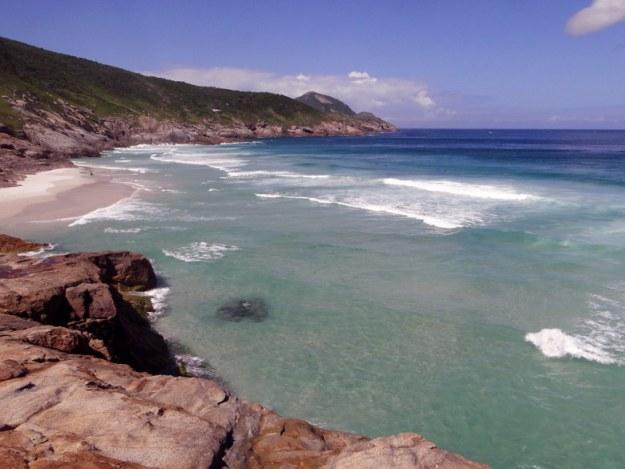 praia brava praias de arraial do cabo