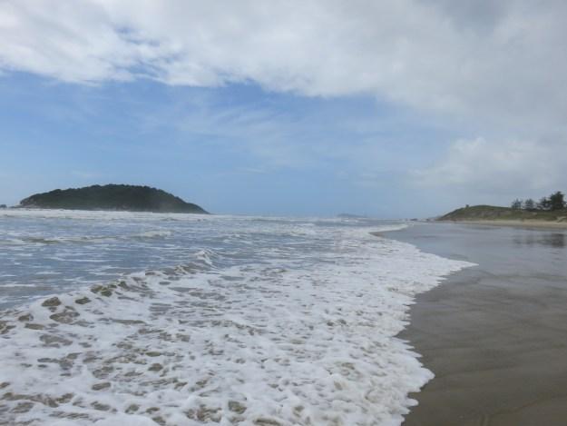 Praia do Luz. Foto: Marcelle Ribeiro.