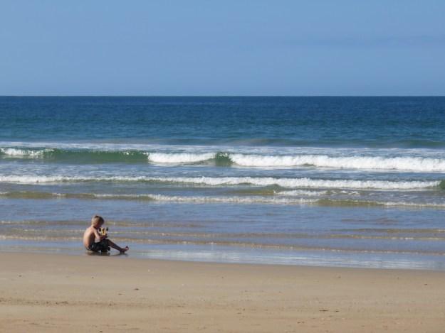 Praia de Canto Grande de  Fora. Foto: Marcelle Ribeiro.