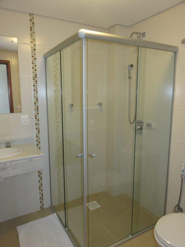 banheiro Pousada Ilha Faceira, em Florianópolis