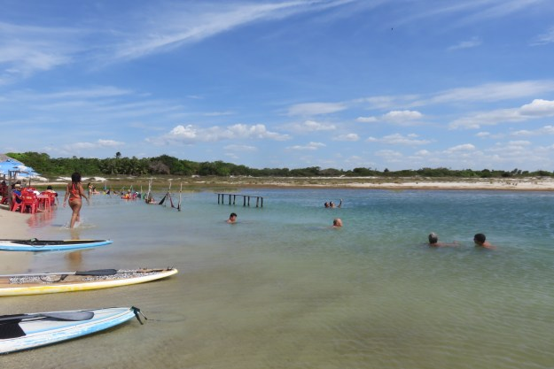 Lagoa Azul, em Jericoacoara. Foto: Marcelle Ribeiro.