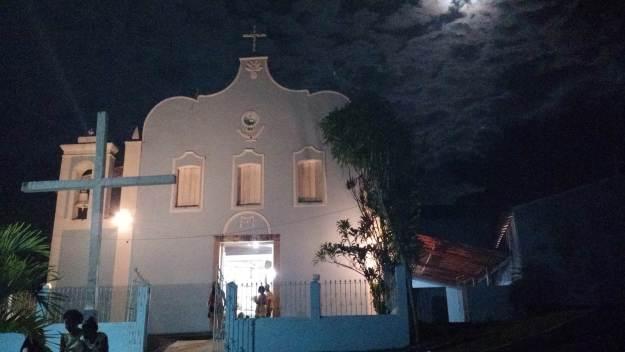 Igreja da vila da Ilha de Boipeba. Foto: Antônio Carlos de Souza.