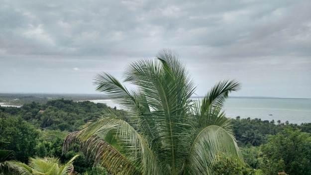 Mirante da Pousada do Céu, na Ilha de Boipeba. Foto: Antônio Carlos de Souza.