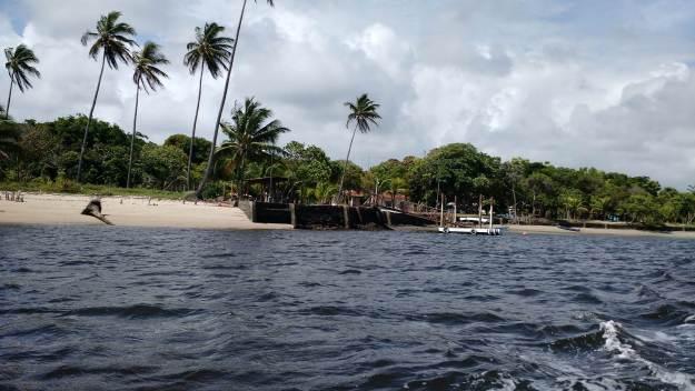 Passeio de barco pela Ilha de Boipeba. Foto: Antônio Carlos de Souza.