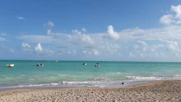 Praia de Burgalhau, em Maragogi. Foto: Marcelle Ribeiro