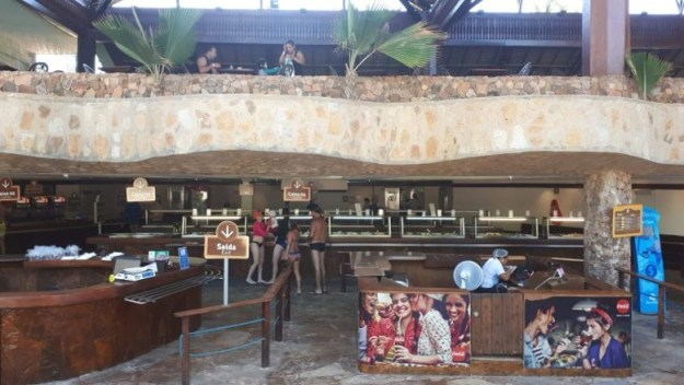 beach park dicas restaurante