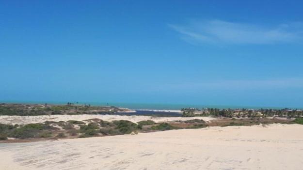 vista durante o passeio de buggy morro branco passeio das 3 praias