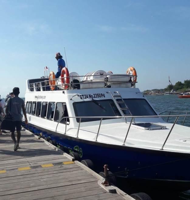 barco gili getaway