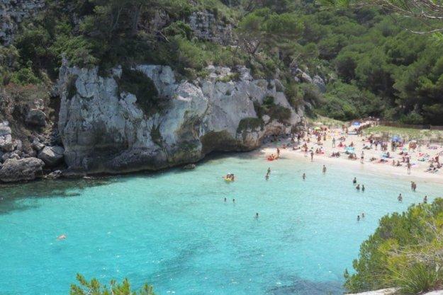 macareleta menorca espanha praia