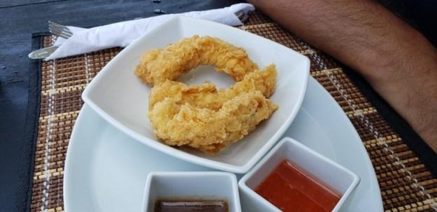 peixe empanado deep blue ilha de providencia