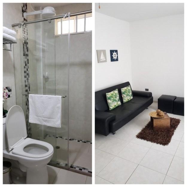ilha de providencia pousada lkjay banheiro