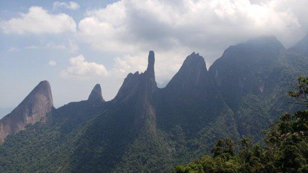parque nacional da serra dos orgaos teresópolis mirante cartao postal