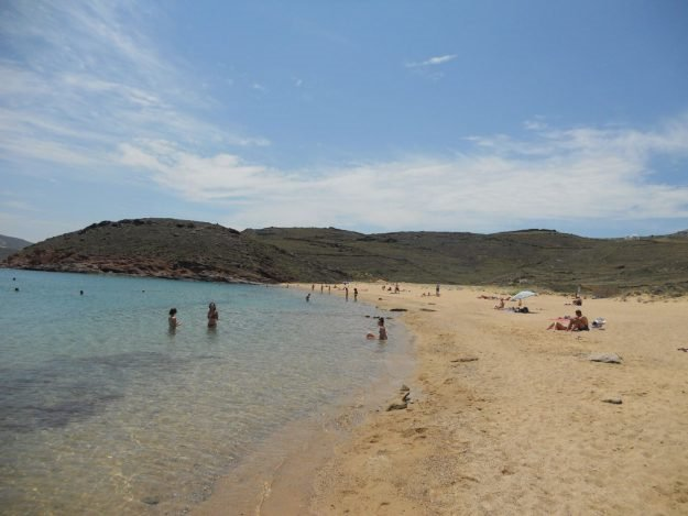 Mykonos, Grécia, Agios Sostis
