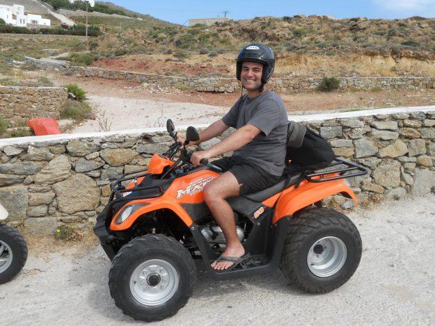 Mykonos, Grécia, quadriciculo