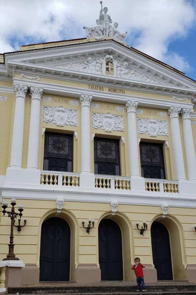 o que fazer em São João del Rei teatro municipal