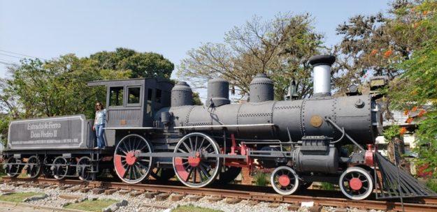 o que fazer em vassouras trem antigo