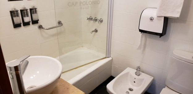 banheiro onde ficar em ushuaia