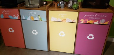 onde ficar em ushuaia lixo reciclavel