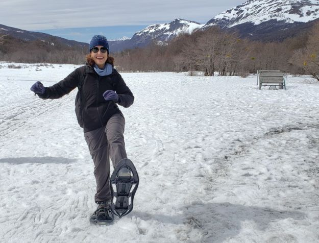 caminhada neve Melhor época para ir a Ushuaia