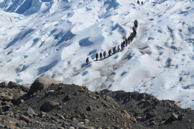 trekking perito moreno seguro viagem argentina