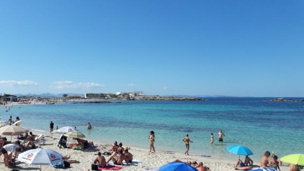 praia es pujols ilha de formentera
