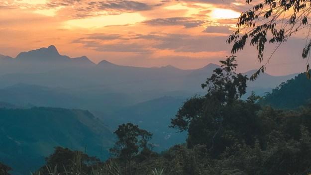 pôr do sol O que fazer em Petrópolis