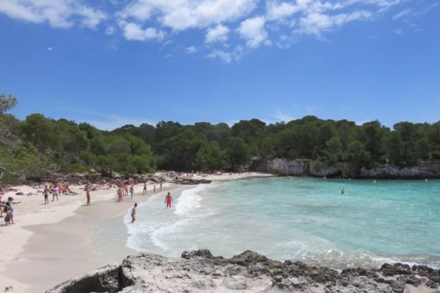 praia turqueta menorca ilhas baleares