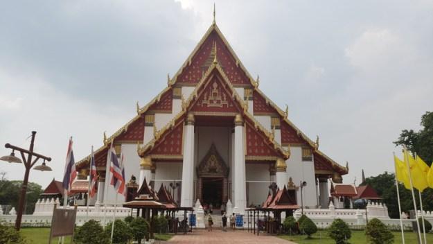 ayutthaya tailandia templo