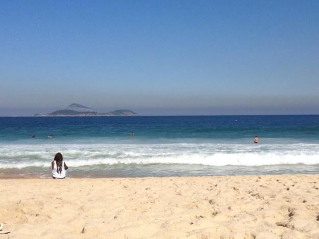 praia de ipanema lua de mel no Brasil