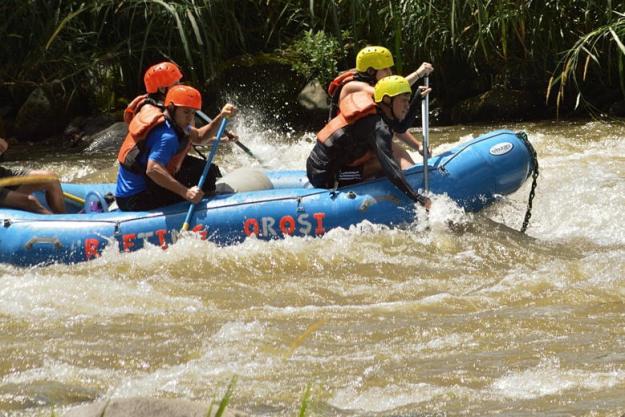 rafting costa rica países abertos para brasileiros