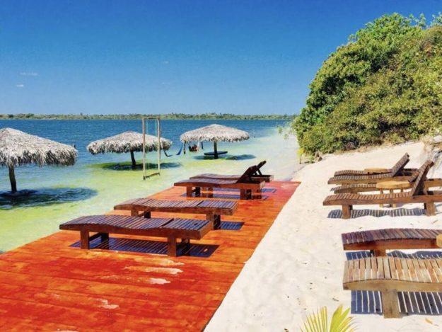 lagoa paraíso onde ficar em jericoacoara