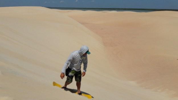 o que fazer em jericoacoara sandboard dunas camocim
