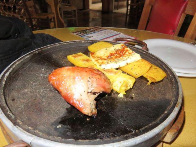 restaurantes em cambará do sul galeteria o casarão prato