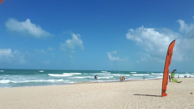 roteiro de praias no ceara praia do futuro