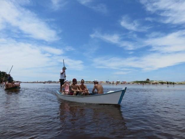 o que fazer na guarda do embaú barco para praia