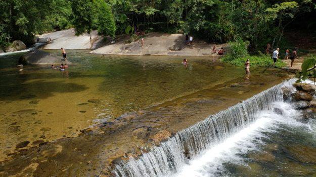 poço da laje cachoeiras em paraty