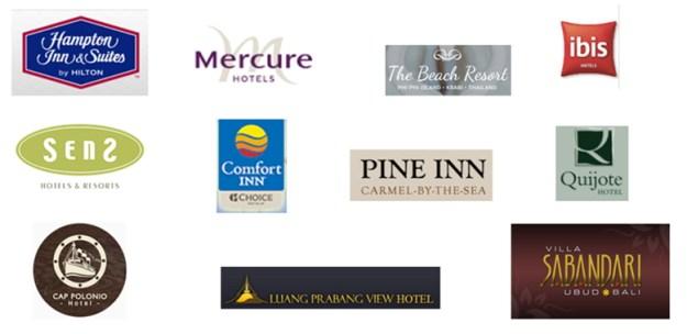 lista hotéis parceiros