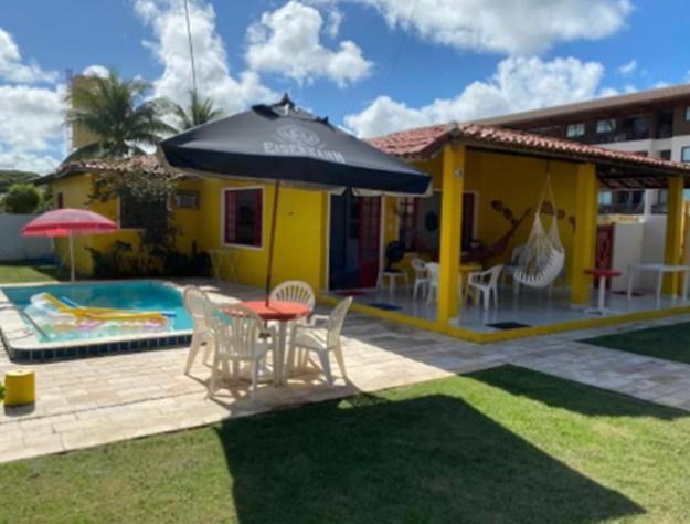 casa amarela casas para temporada em porto de galinhas