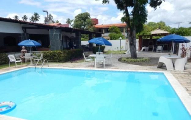 piscina guarda-sol casas para temporada em porto de galinhas