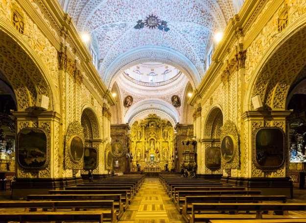 catedral quito seguro viagem equador