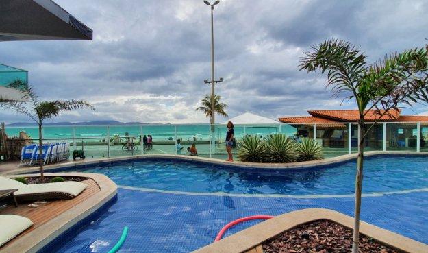 piscina paradiso peró onde ficar em cabo frio