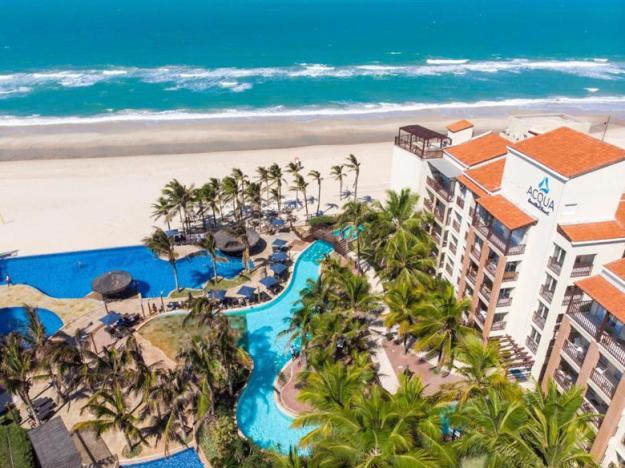 piscina acqua resort hotéis próximos ao beach park