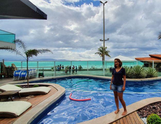 piscina hotel quanto custa viajar para cabo frio