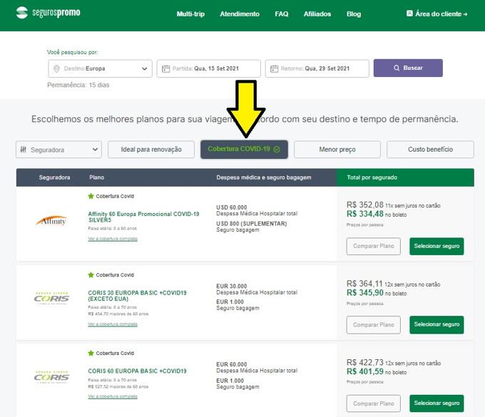 site seguros promo seguro viagem alemanha