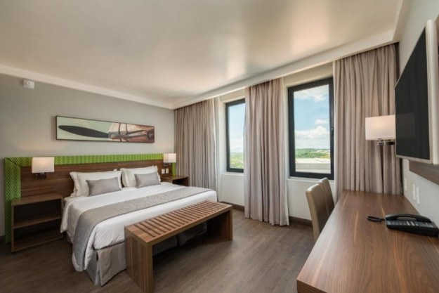 quarto hotel linx onde ficar em belo horizonte