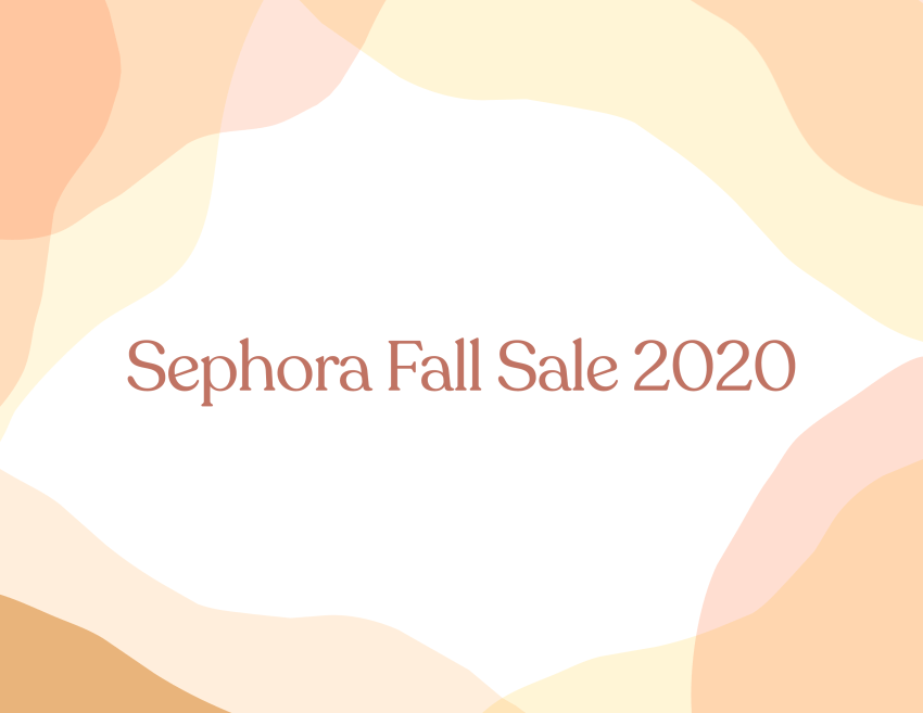 Sephora Fall Sale 2020 - www.viciloves.com - @viciloves1