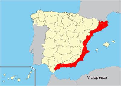 mapa aguja